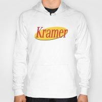 seinfeld Hoodies featuring Kramer  - Seinfeld by Uhm.