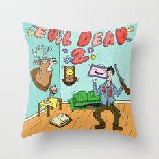 ♥ EVIL DEAD 2 ♥ Throw Pillow