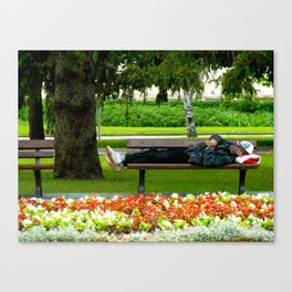 Just Chillin Canvas Print