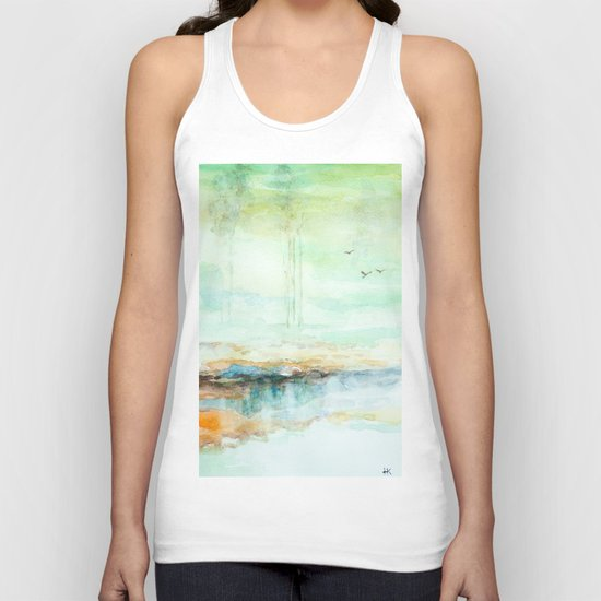Spring is coming Unisex Tank Top