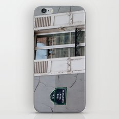Rue Saint Eleuthere iPhone & iPod Skin