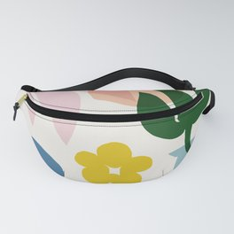 Abstraction_Floral_002 Fanny Pack