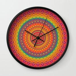Mandala 507 Wall Clock