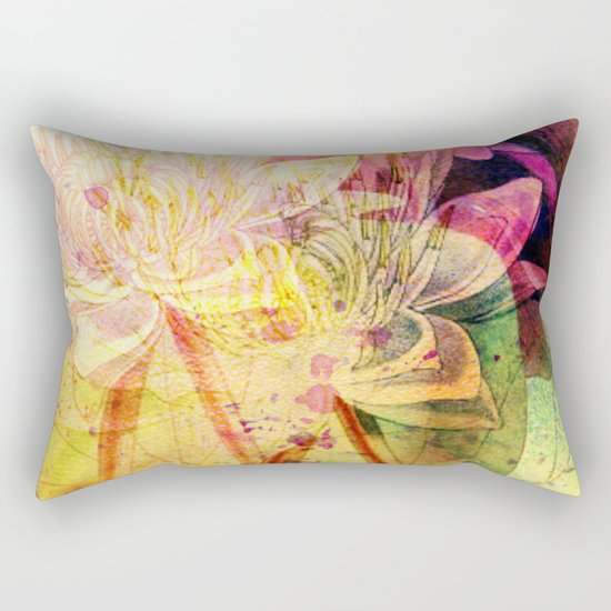 waterlily 2 Rectangular Pillow