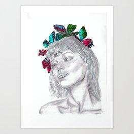 Caligo Art Print