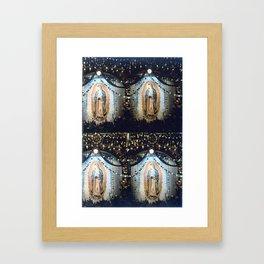 «llena eres de gracia» Framed Art Print