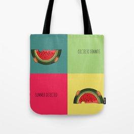 Summer Detected Watermelon Tote Bag