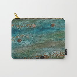 Baltic Sea / Mixed Media Painting Carry-All Pouch