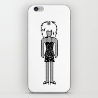 tina crespo iPhone & iPod Skins featuring Tina Turner by Band Land