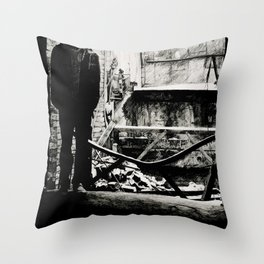 Cloaked in Darkness Throw Pillow