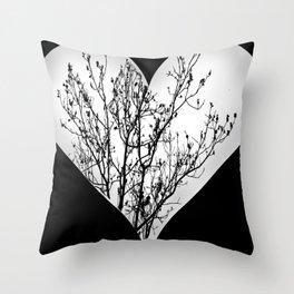 Nature love Throw Pillow