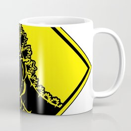 Radioactive Creature Cossing Coffee Mug
