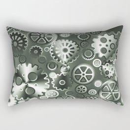 Steel gears Rectangular Pillow