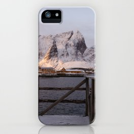 Morning in Lofoten iPhone Case