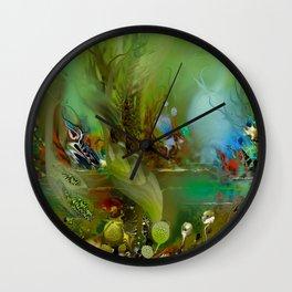 Grass 1 Wall Clock