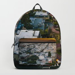 Sunrise at Lombard Street Backpack