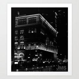Carnegie Hall Aglow Art Print