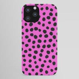 Keep me Wild Animal Print - Spots iPhone Case