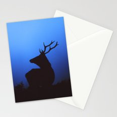 RED DEER AT DAWN Stationery Cards