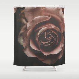 Dusty Pink Rose Shower Curtain