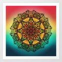 Good vibe mandala by angeldecuir