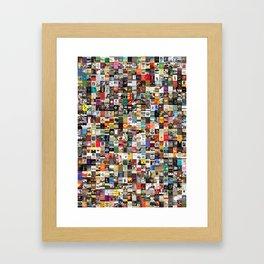 Greatest Books of All Time Framed Art Print
