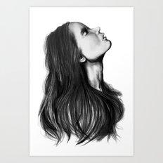 Harmony // Fashion Illustration Art Print