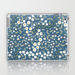 Ditsy Blue Laptop & iPad Skin