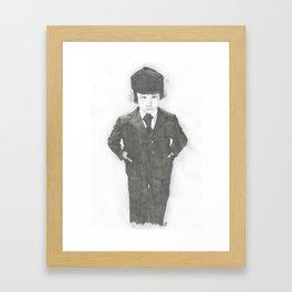 Damien. Framed Art Print