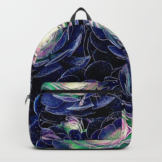 Plant Life At Night Backpack
