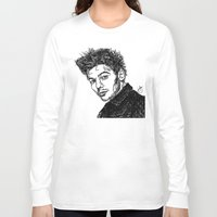 louis tomlinson Long Sleeve T-shirts featuring Louis Tomlinson by Hollie B