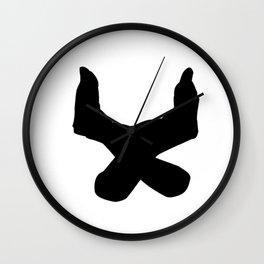 Letter U - GoldShade Wall Clock