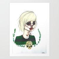 American Horror Story: Tate Art Print