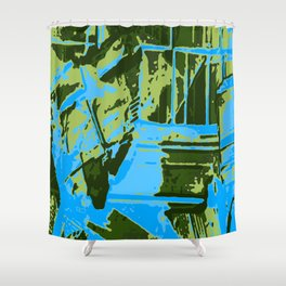 Nowhere 2 Shower Curtain
