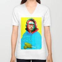beastie boys V-neck T-shirts featuring Gioconda Music Project · Beastie Boys · Adam Horrovitz by Marko Köppe