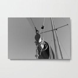 Mast Metal Print