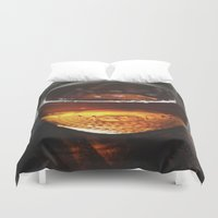 whiskey Duvet Covers featuring Mason Whiskey by Stephen John Bryde