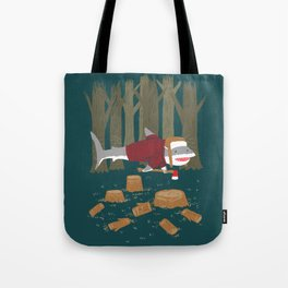 LumberJack Shark Tote Bag