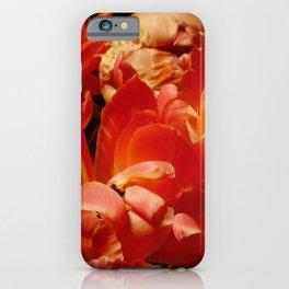 Parrot Tulips bouquet Close up IX iPhone Case