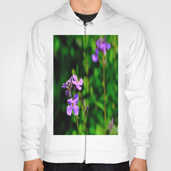 Springing Purple Hoody