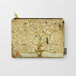 Gustav Klimt The Tree Of Life Carry-All Pouch