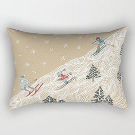 Ole Man Winter Rectangular Pillow