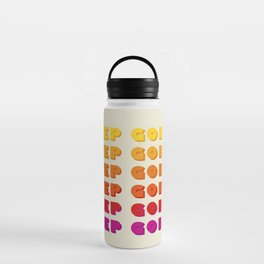 KEEP GOING - POSITIVE QUOTE Water Bottle