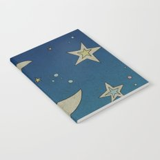 Moon Hanging Notebook