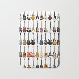 Guitar Legends Bath Mat