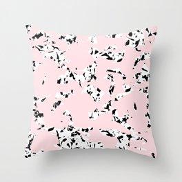 pattern no. 5 / milk & chocolate & strawberry Throw Pillow