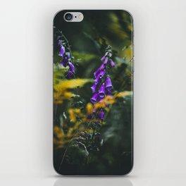 digitalis grandiflora iPhone Skin