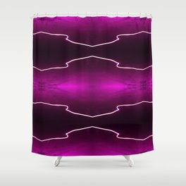 Light Trails Shower Curtain