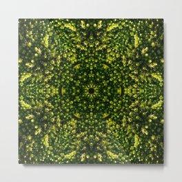 Mossy Flower Metal Print