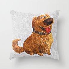 Dug Throw Pillow